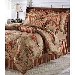 Jane Seymour English Court 4 piece King Comforter Set  Overstock