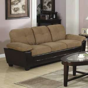 Opdyke West Leather Sofa in Brown