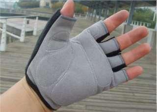 2012 Cycling Bike Bicycle Half Finger Gloves Orange Size M, L, XL