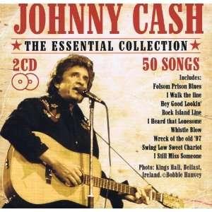2CD/50 SONGS   JOHNNY CASH JOHNNY CASH 2CD SET / 50 SONGS Music
