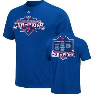 Philadelphia Phillies Youth 2010 National League Champions Roster T
