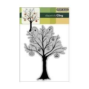 Black Cling Rubber Stamp 5X7.5 Dark Spirits: Arts, Crafts & Sewing