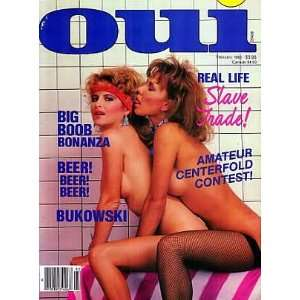 OUI MAGAZINE    FEBRUARY 1985 ISSUE: OUI: Books