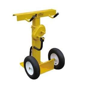 VESTIL Hand Crank Trailer Stabilizing Jacks   Yellow