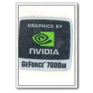 NVIDIA GEFORCE 7000M Logo Stickers Badge for Laptop and Desktop