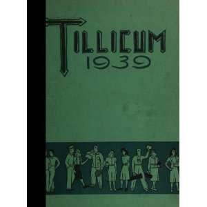 (Reprint) 1939 Yearbook Oakville High School, Oakville