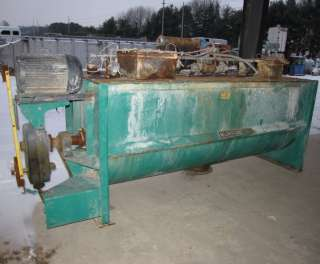 65 CUBIC FOOT USED MUNSON DOUBLE RIBBON BLENDER