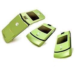 V3 Lime Green Unlocked GSM Cell Phone (Refurbished)