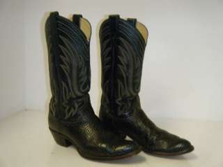 JUSTIN Vintage Cowboy Boots 9 B Men