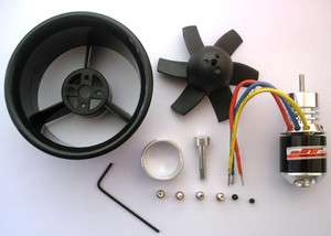 Ducted Fan 64mm + 4800KV Brushless Motor RC Jet EDF