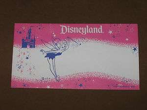 Vintage DISNEY DOLLARS Currency With Character Envelope