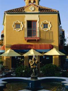 1920s Spanish Style Architecture in Downtown Sarasota, Florida, USA