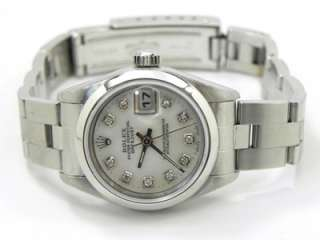 Ladies Rolex Datejust MOP Diamond Dial & Box & Papers U Serial 1997