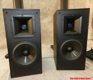 Klipsch SB 2 surround sound bookshelf speakers loudspeakers home