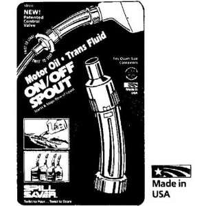 Mfg. 10100 Oil And Transmission Fluid Spout (Pack of 12) Automotive