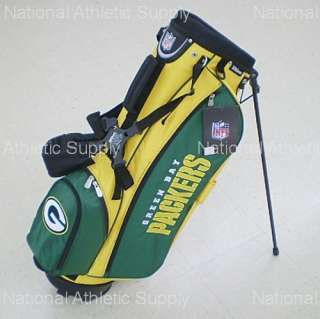 Green Bay Packers NFL Carry / Stand Golf Bag New 883813404681