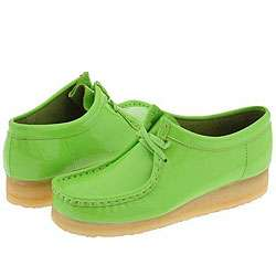 Clarks Wallabee   Womens Lime Patent Leather  Overstock