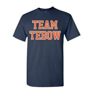 Team Tebow Youth and Adult Navy T Shirt by BBG:  Sports
