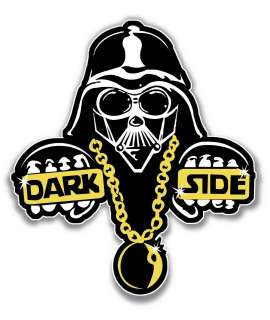 DARK SIDE DECAL STICKER DARTH VADER STAR WARS