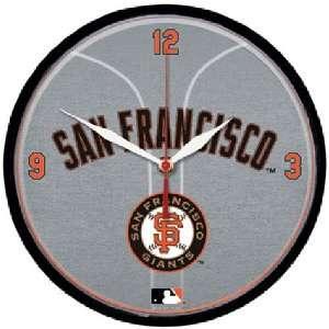 San Francisco Giants MLB Round Wall Clock Sports