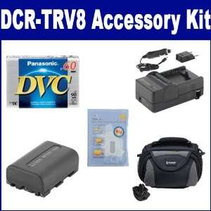 DCR TRV8 Camcorder Accessory Kit includes SDC 26 Case, DVTAPE Tape