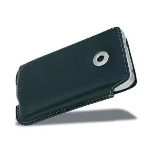 Coverec Pouch leaher Case for Mappy Ii   Black GPS & Navigaion