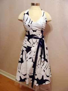 SMART GORGEOUS 50s RETRO STYLE LOOK HALTER PARTY COCKTAIL SUNDRESS