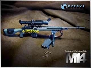 Zy Toys Sniper Rifle Gun M14 Olive Drab OD Green USMC Army Seal
