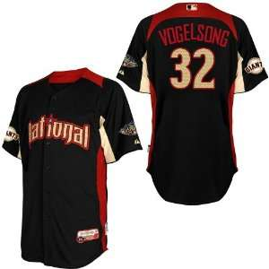 2011 All Star San Francisco Giants Authentic #32 Ryan Vogelsong BLUE
