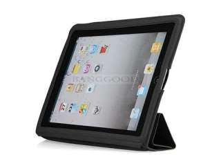 Slim Smart Full Body Cover PU Leather Case For The New iPad 3rd Gen