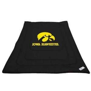 NCAA IOWA HAWKEYES FULL / QUEEN BED COMFORTER Sports
