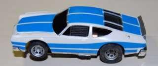 Vintage Aurora white/blue MATADOR slot car Ex!! RARE!!!!!