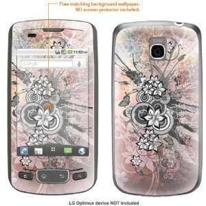 STICKER for T Mobile LG Optimus case cover Optimus 36 Electronics