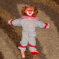 Vintage BOZO THE CLOWN Doll Toy RARE 18
