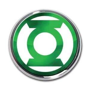 Green Lantern Premium Chrome Metal Emblem   Green Lantern