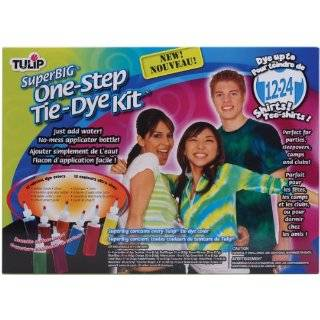 Tulip One Step Super Big Tie Dye Kit, 12 Colors