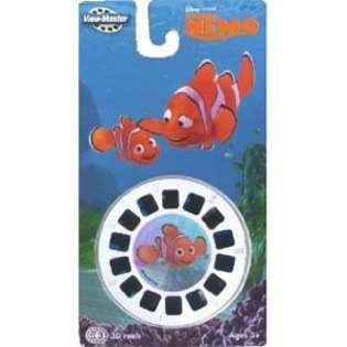 View Master ViewMaster 3D Reels   Disney Pixar Finding Nemo set at