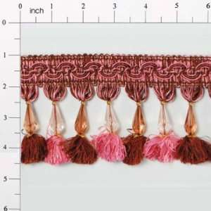 Ultra Drop Bead Tassel Fringe Trim Arts, Crafts & Sewing