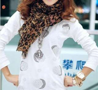 Extra Large Fashion Leopard Shawl Scarf Wrap Long Wide