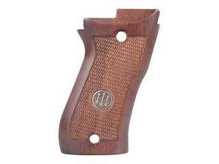 Beretta Cheetah 85 85F 85FS Wood Pistol Grips w/ Emblem