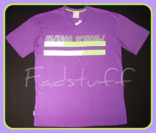 Originals Mens PURPLE T Shirt TEE Urban Retro Hiphop Clothing NWT