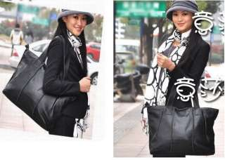 Women Brown Genuine Cowhide Leather Handbag Shoulder Tote Bags