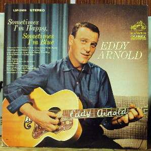 EDDY ARNOLD Sometimes Im Happy LP OOP mid 60s country