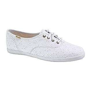 Womens Champion Eyelet Casual Shoe   White  Keds Shoes Womens