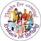 The Fresh Beat Band Personalized favor stickers personalized Birthday