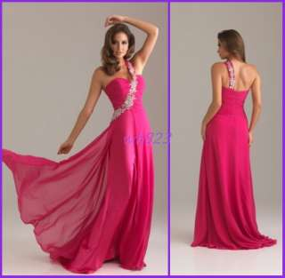 16) Wedding Prom Ball Evening cocktail Bridal Party Gown Dress