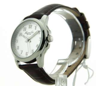 Kenneth Cole KC2641 Watch Womens Black Casual Leather New 020571081390