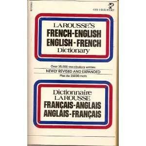 Larousses French  English, English French Dictionary (English and