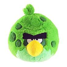 Angry Birds 5 Inch Space Plush   Green   Commonwealth Toys   Toys R