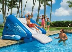 Kool Splash Inflatable Swimming Pool Water Slide 078257588510